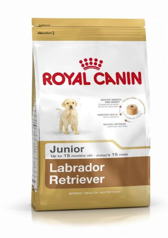Royal Canin Breed Health Nutrition Labrador Retriever Junior 12 kg 3182550725514