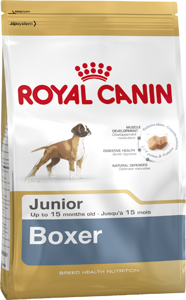 Royal Canin Breed Health Nutrition Boxer Junior 12 kg, 3 kg