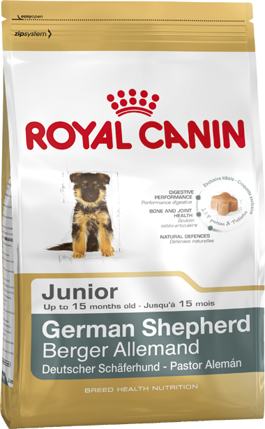 Royal Canin Breed German Shepherd Junior 12 kg, 3 kg