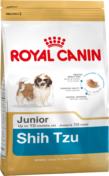 Royal Canin Breed Health Nutrition Shih Tzu Junior 500 g 3182550722599 erfaringer