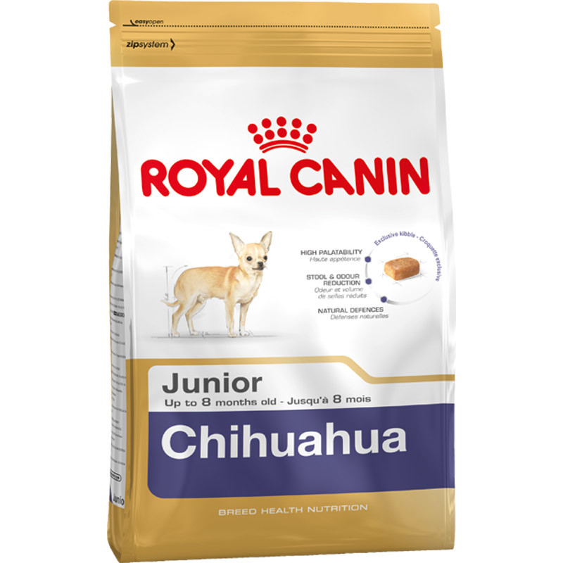 Royal Canin Breed Health Nutrition Chihuahua Junior 500 g, 1.5 kg