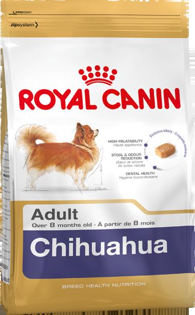 Croquette Chihuahua Adult 500g, 1.5kg, 3kg de chez Royal Canin achats pas cher