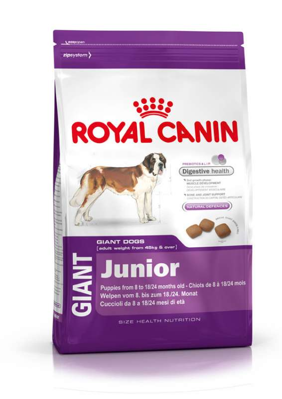 Royal Canin Size Health Nutrition Giant Junior 15 kg, 4 kg