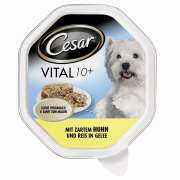 Cesar Shell Vital 10+ with tender Chicken & Rice in Jelly 150 g