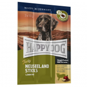 Happy Dog Tasty Neuseeland Sticks med Lamm pur 3x10 g