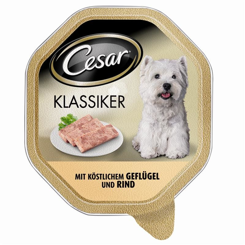 Cesar Classic with succulent Poultry and Beef 150 g