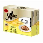 Sheba Portion Sachets Delicate Jelly Variation in Multipack 8x85g 8x85 g