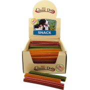 Dental snacks Classic Dog Snack Chewing stick, Gluten Free, Mini 12 cm in beige, red or green 30 g