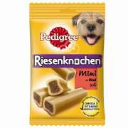 PedigreeJumbone Mini With Beef 4x180 g Dog food