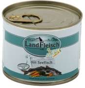 Cat Gourmet Pot Sea fish with fresh Vegetables in Can 195 g