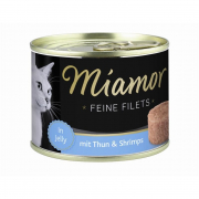 Miamor Feine Filets Thunfisch & Shrimps 185 g