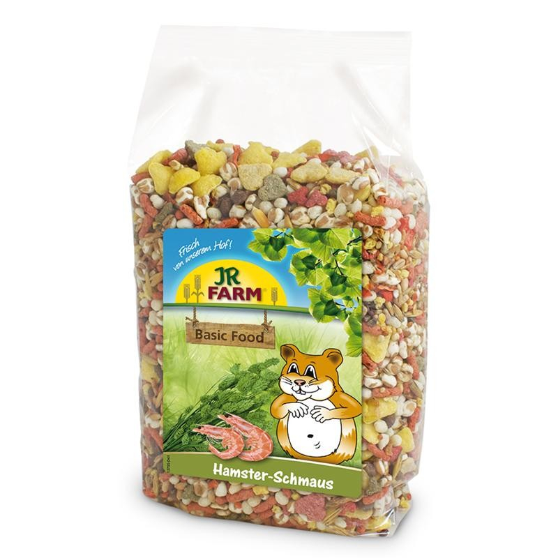 JR Farm Hamsters Feast 600 g 4024344136788 erfaringer