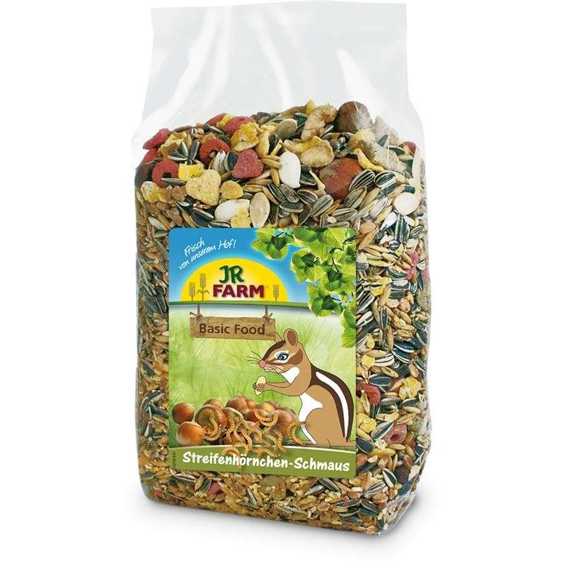 JR Farm Chipmunks feast 600 g