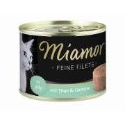Miamor Filetes Finos Atún y Vegetales 185g