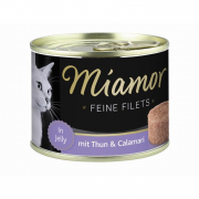 Miamor Filets Fins Thon & calamar 12x185g