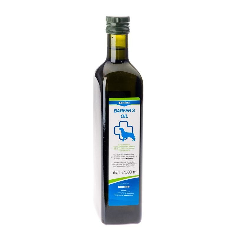 Barfers Oil von Canina Pharma 500 ml online günstig kaufen