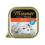 Ragout Royale Cream Duck in Herb cream from Miamor 100 g