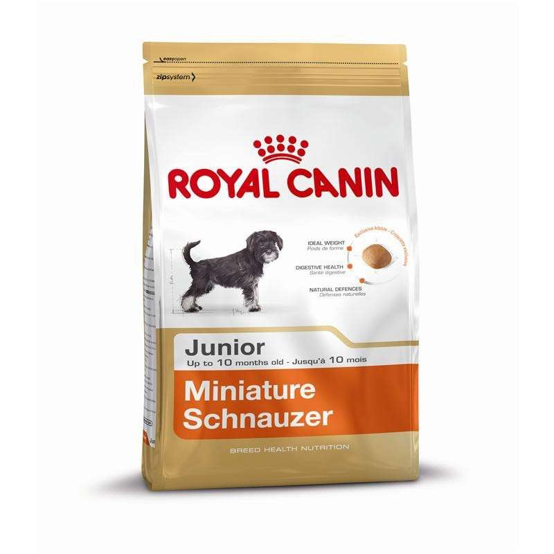 Royal Canin Breed Health Nutrition - Miniature Schnauzer Junior 1.5 kg, 500 g