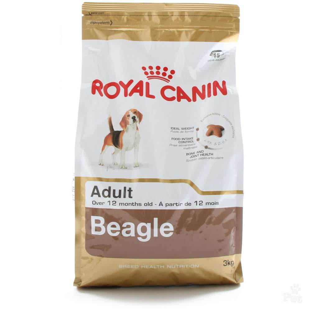 Royal Canin Breed Health Nutrition - Beagle Adult 12 kg, 3 kg köp billiga på nätet