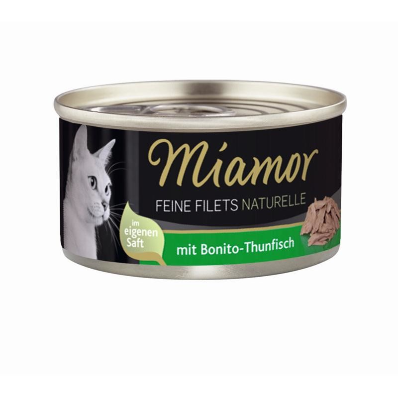 Miamor Filetes Finos Naturelle Bonito-Atún 80 g