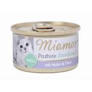 Miamor Pastete Sterilized Kyckling och tonfisk 24x85 g