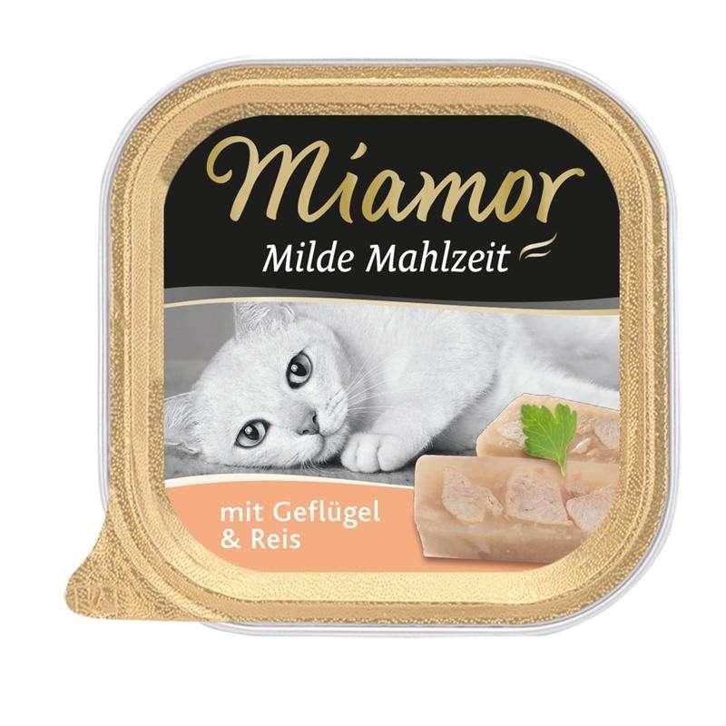 Miamor Mildt Måltid Kylling & ris 100 g