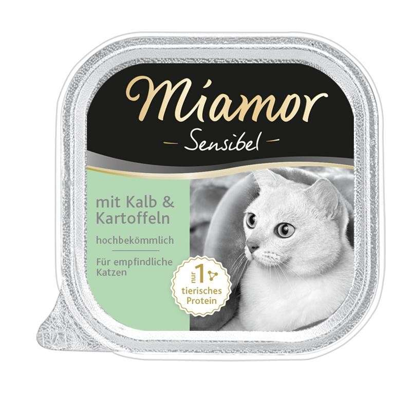 Miamor Sensitive Veal & Potato 100 g order cheap