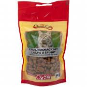 Classic Cat Snack Crunchy snack with salmon and spinach Art.-Nr.: 11279