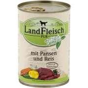 Landfleisch PUR Pansen & Reis mit Frischgemüse Dose 400 g