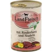 Landfleisch PUR Rinderherz & Nudeln mit Frischgemüse Dose 400 g