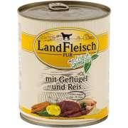 Landfleisch PUR Geflügel & Reis extra mager mit Frischgemüse Dose 800 g