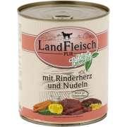 Landfleisch PUR Rinderherz & Nudeln mit Frischgemüse Dose 800 g