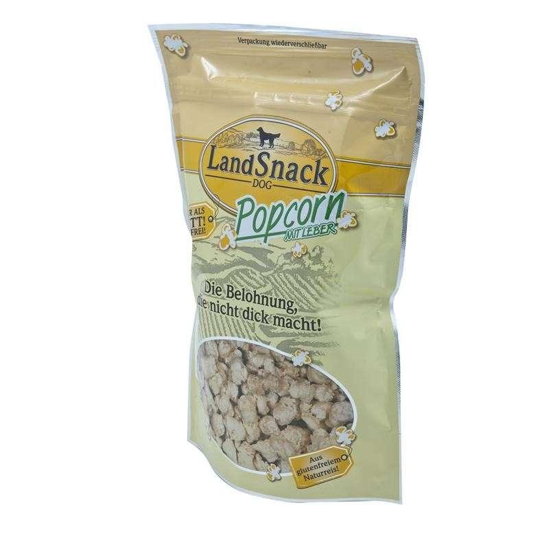 Landfleisch LandSnack Dog Popcorn with Liver 100 g kjøp billig med rabatt