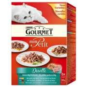 Gourmet Mon Petit Duo Meat & Fish 6x50 g