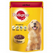 Pedigree Portionsbeutel Rind in Gelee 100 g