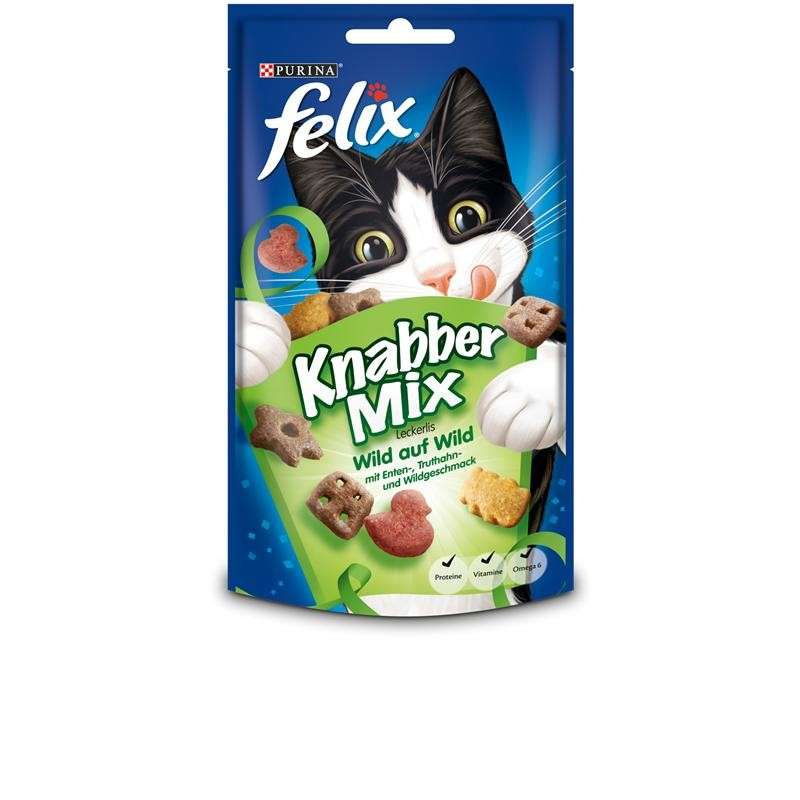 Felix Snacks Goody Bag Game Mix 60 g