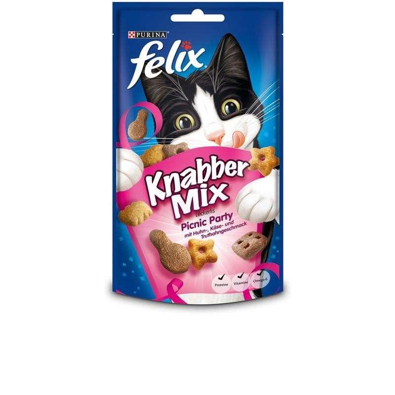 Kissan makupalat Party Mix Picnic Party 60 g  Felix osta edullisesti