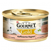 Purina Gourmet Gold - Savoury Cake with Salmon 85 g