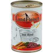 Landfleisch Cat Gourmet Pot Beef with fresh Vegetables in Can 400 g