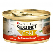 Purina Gourmet Gold Refined Ragout with Beef 85 g