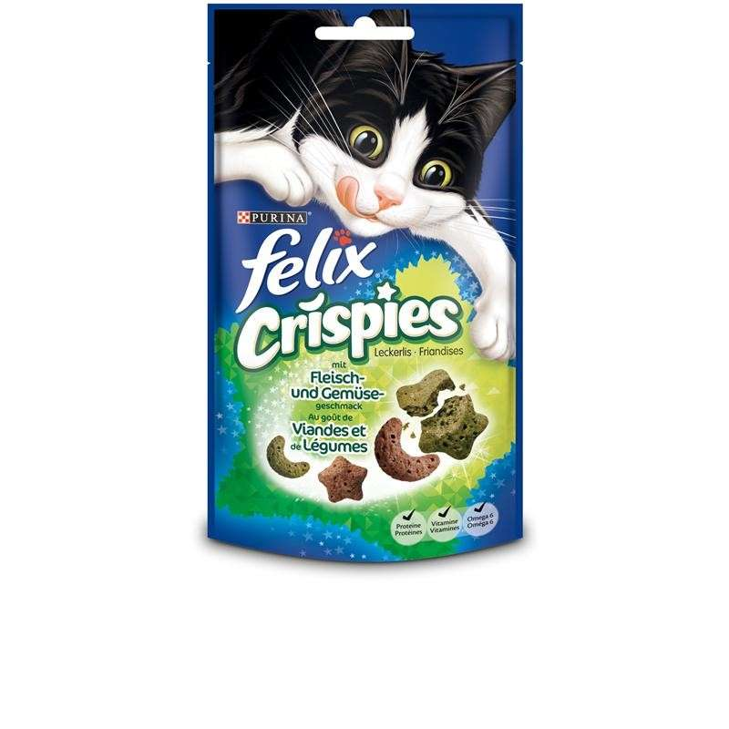 Felix Crispies Vlees & Groente 45 g