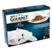 Purina Gourmet Perle (Buey, Conejo, Salmón, Pollo) 8x85 g