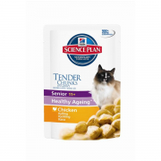 Hill's Science Plan Feline - Senior 11+ Healthy Ageing med Kyckling - EAN: 52742218809