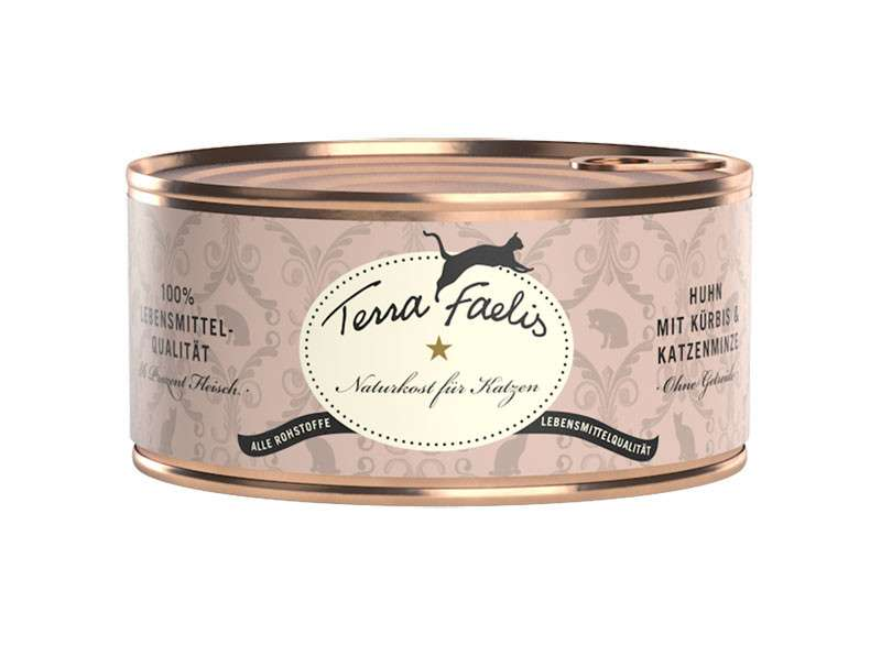 Terra Faelis Can Chicken with Squash & Catnip 100 g