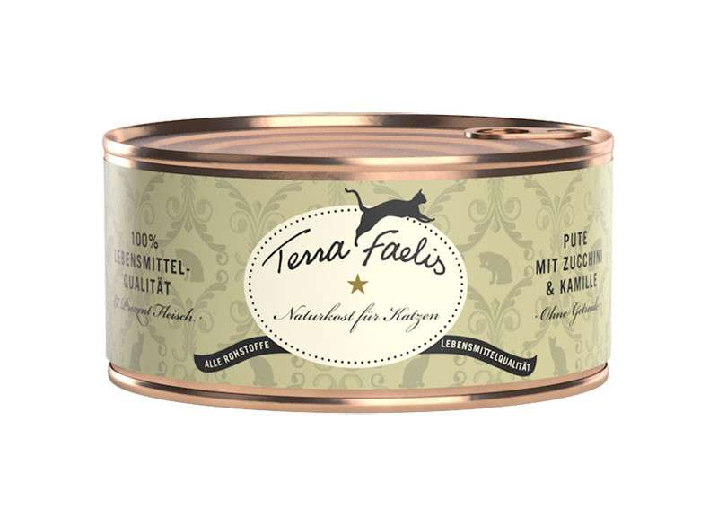 Terra Faelis Turkey with Zucchini and Chamomile 100 g, 400 g, 200 g