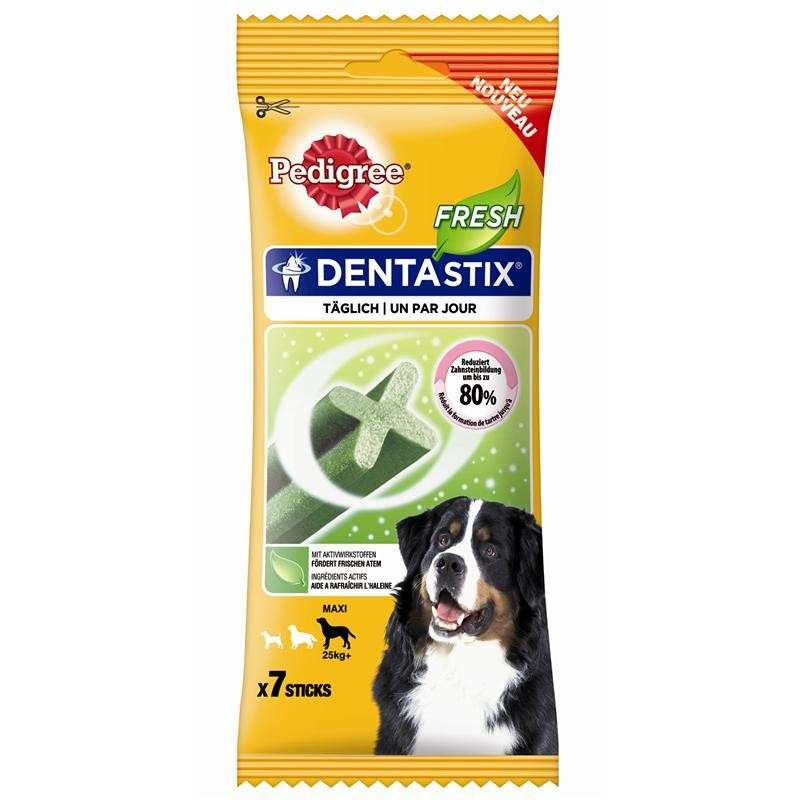 Pedigree Snack DentaStix Fresh Grand Chien 270 g