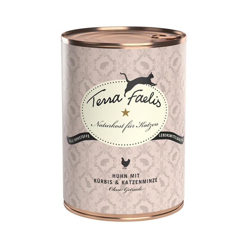Terra Faelis Can Chicken with Squash & Catnip 200 g