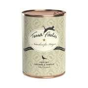Terra Faelis 12x400g Boîte Dinde, courgettes et camomille achetez en ligne pour chat