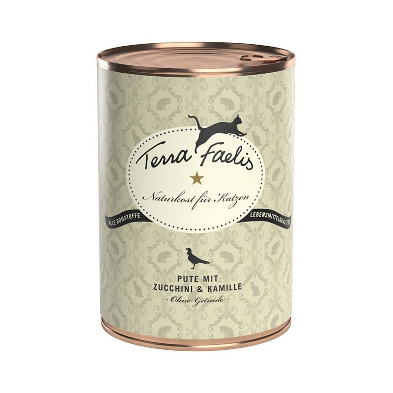 Terra Faelis Turkey with Zucchini and Chamomile 200 g 4260109620974