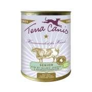 Terra Canis Menu Senior, Boeuf avec Céleri, Abricot et Plantes Médicinales 800 g